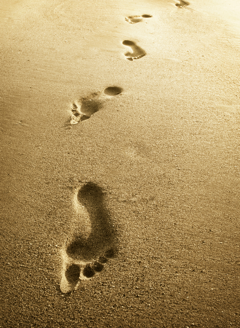 Footprints Poem Posters